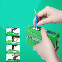 Волоконно-Концевая коробка для очистки лица инструмент для очистки волоконного хвоста очиститель кассетных волокон, волоконные оптически...
