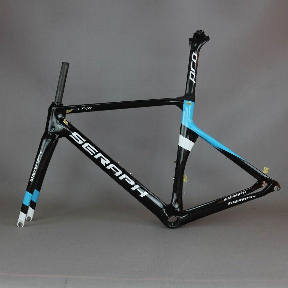 Super Aero Race Carbon Road Frame  Design Carbon Road Racing Frame TT-X1 Accept Custom Paint