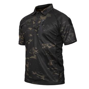 Lato szybkie pranie taktyczne T Shirt mężczyźni kamuflaż na zewnątrz koszulka z krótkim rękawem Multicam czarny Mandrake (SKU051277) tanie i dobre opinie Quick Dry Tactical T Shirt Men STINGER GEAR 100 polyester Pasuje mniejszy niż zwykle proszę sprawdzić ten sklep jest dobór informacji