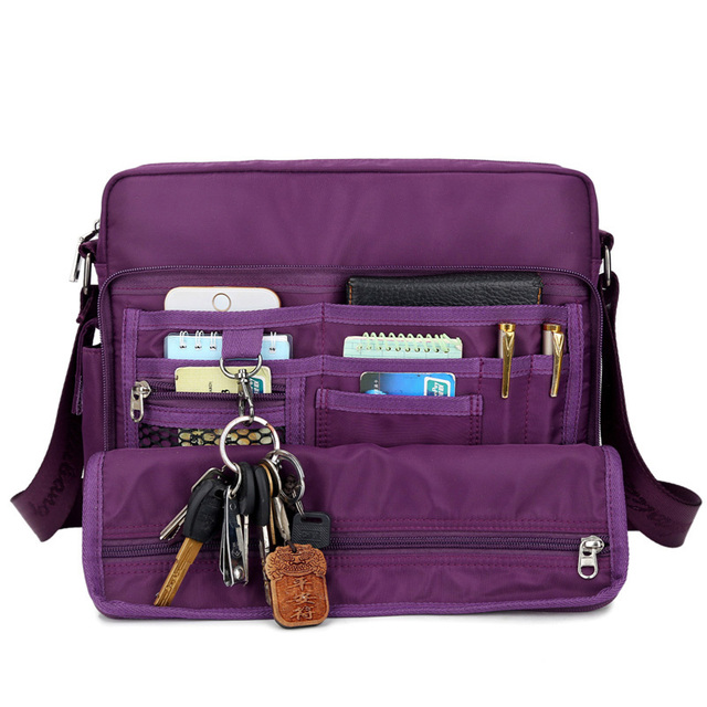 Unisex Waterproof Nylon Messenger Bag Men s Shoulder Bag Small Crossbody  Bags for Women Fashion Handbag School Bag bolsos mujer 005db95aac902