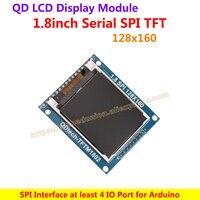 1,8 дюймов 128X160 TFT ЖК-экран панель SPI lcd демонстрационная плата драйвера + PCB адаптер + Поддержка ARM STM32 и C51 Arduino