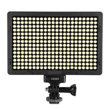 LED Ultra Bright 5500K Dimmable On Camera Video Light for Digital SLR Cameras with 308 stand as Yongnuo YN300 YN-300