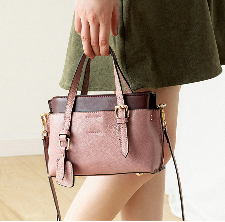 Genuine Leather Handbag For Women Leather Shoulder Bags Design Lady Luxury Handbag Real Leather Women's Handbag