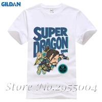 201 7New Men T Shirt Ow Super Dragon Bro Print O Neck Cotton Ow Game Genji