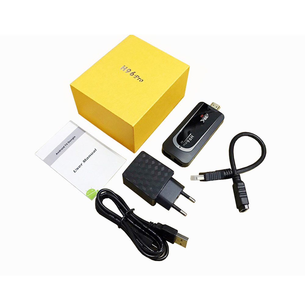 H96 Pro H3 4 K TV Stick Android 7.1 Amlogic S905X Quad Core 2G 16G Mini PC 2.4G 5G Wifi Bluetooth 4.0 1080 P HD Miracast TV dongle - 6
