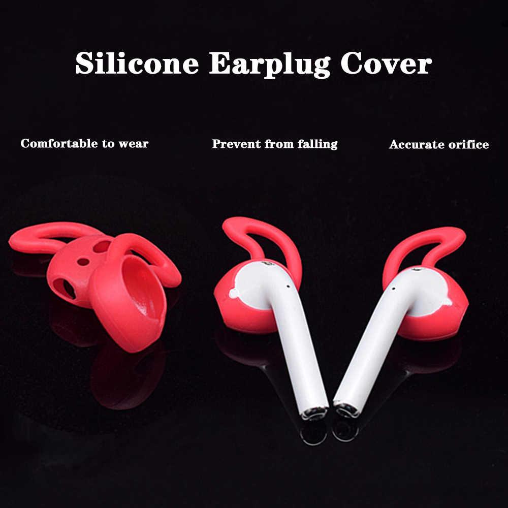 Miękkie pokrywa silikonowa słuchawki douszne przypadku AirPods etui na i600 bezprzewodowy zestaw słuchawkowy Bluetooth słuchawki straty dowód poślizgu odporne na zużycie dowód