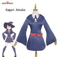 UWOWO Akko Kagari Cosplay Little Witch Academia School Uniform Akko Kagari Costume Little Witch Academia Cosplay