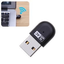 Mini AC600 Dual Band 2.4Ghz/5Ghz Wireless WiFi USB Adapter 150Mbps 433Mbps Wi-fi Network Card for Notebook Laptop PC