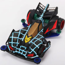 AUDY MINI 4WD beak spider assemble electric model car Raider buggies Kits 4WD Racing Cars Educational Toys Children Gifts rfdtygr hg professional tool for tamiya mini 4wd auldey mini 4wd mini 4wd 1set lot
