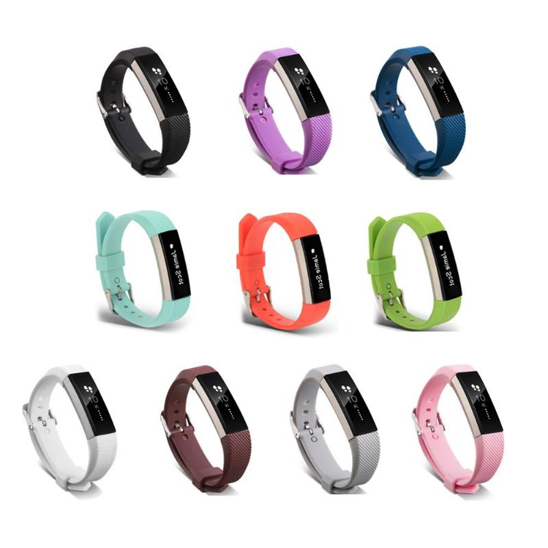 1Pcs 22cm Soft Silicone Watch Band Bracelet Strap for Fitbit Alta HR Smart Watch Colorful Replacement Strap Wrist Strap Hot Sell fabulous multi color luxury tpu silicone watch band strap for fitbit blaze smart watch watch band hot sale dropship claudia