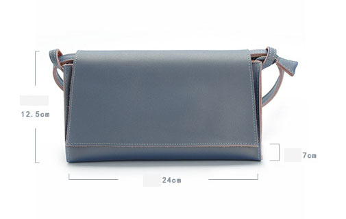 Genuine Leather Women Messenger Bag Cow Leather Shoulder Bag Women Crossbody Bag daily Clutch (2)