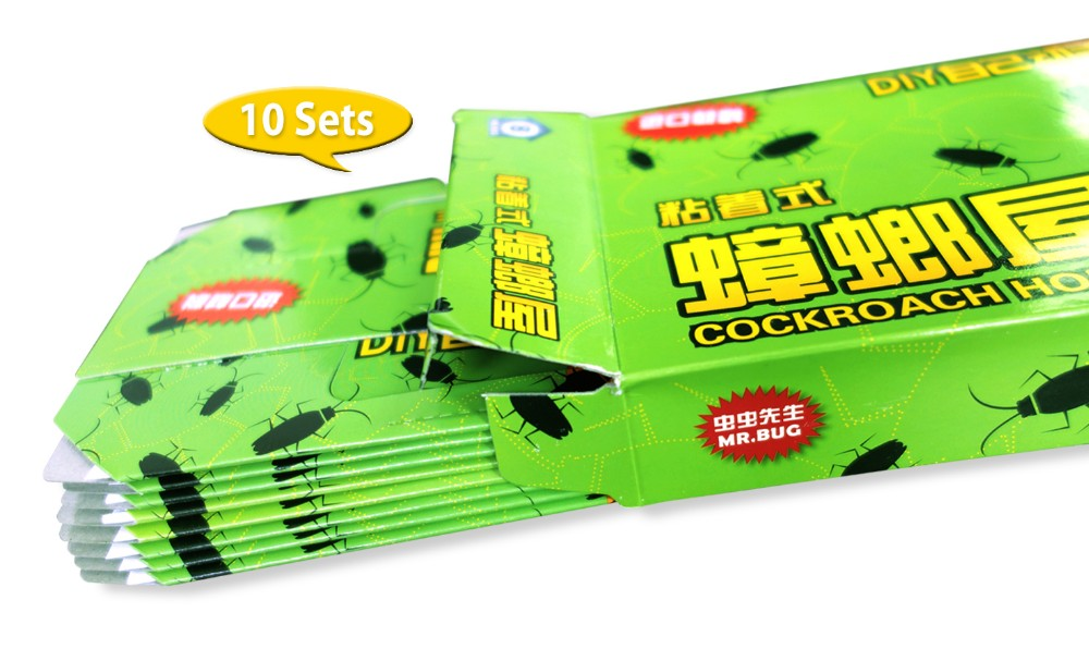 10 Top Quality Roach Cockroach Centipedes Ant Spider Repeller Trap Pest Control Centipedes Pests Reject Repeller Killer Trap in Traps from Home Garden