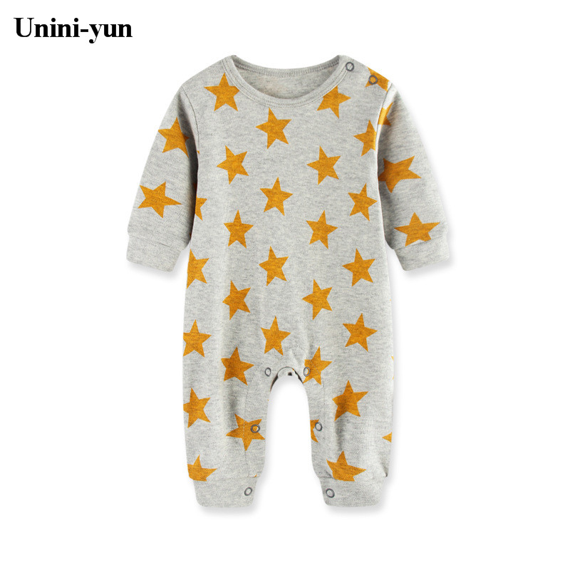 Newest Baby Rompers Newborn Cute Little Stars print Children Jumpsuit Overalls Spring Body Roupa de Boys Girls Clothes 2 pcs lot newborn baby girls clothing set cute pink cotton baby rompers boys jumpsuit roupas de infantil overalls coveralls