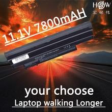 HSW Laptop Battery for Acer Aspire 522 D255 722 AOD255 AOD260 D255E D257 D257E D260 D270 E100 AL10A31 AL10B31 AL10G31 battery аккумулятор 4parts lpb 522 для acer aspire one d255 d260 522 722 happy happy2 gateway lt25 series 11 1v 4400mah al1