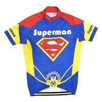 Tinkkic 2017 superman bisiklet jersey bisiklet maillot ciclismo yol yarış bisiklet bisiklet clothing ropa ciclismo erkek # rf-35 tops