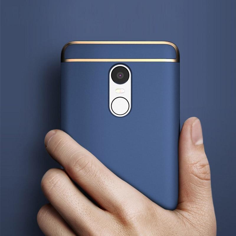 Xiaomi Redmi Catatan 4X Kasus Mewah iOPCOOEM 3 in 1 Keras PC Hybrid - Aksesori dan suku cadang ponsel - Foto 4