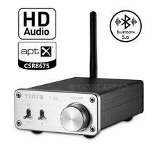 Nobsound Mini HIFI Stereo CSR8675 Bluetooth 5.0 Alıcı Verici Opt ses şifre çözücü destekler APTX HD
