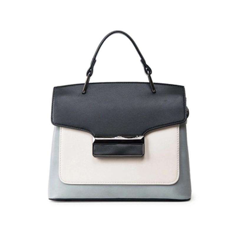 купить Bag 2018 spring and summer new female handbag simple hit color small square package commuter shoulder Messenger bag tide z830 недорого