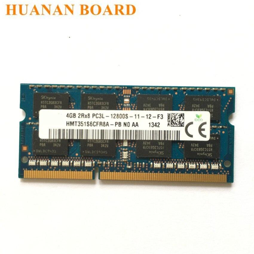 4GB DDR3-1600 PC3-12800S 2Rx8 DDR3L SDRAM Laptop Memory