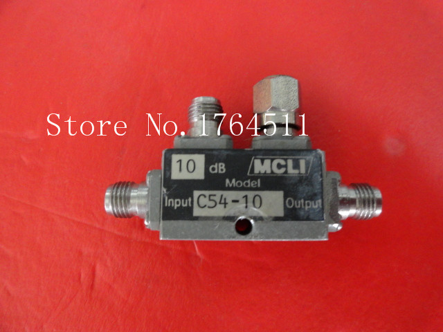 [BELLA] MCLI C54-10 17-22GHz 10dB SMA RF Microwave Directional Coupler
