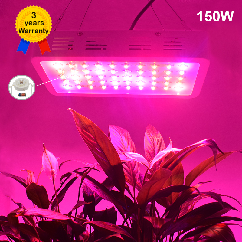 Led Beleuchtung Für Pflanzen   150 Watt Gefuhrt Wachsen Volles Spektrum Led Lampe Licht Beleuchtung