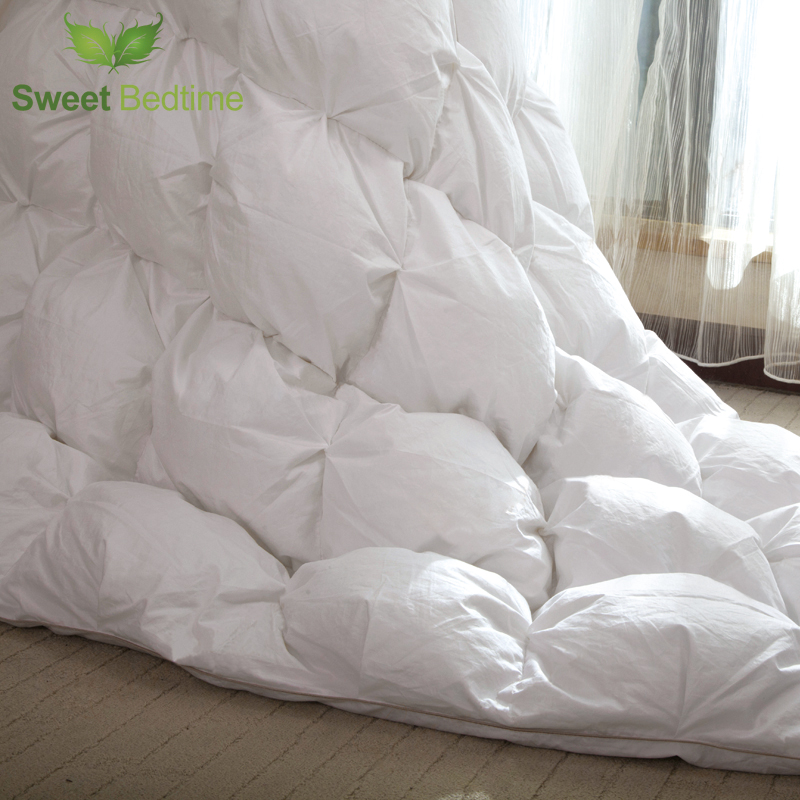 hanging goose down Comforter core 1000 filling power sateen sticky - Home Textile