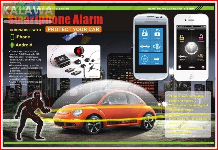 Gsm Car Security System Price