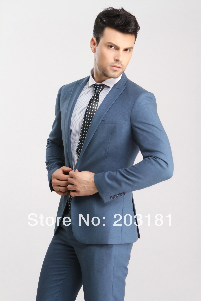 Mens Modern Slim Fit Suits | My Dress Tip