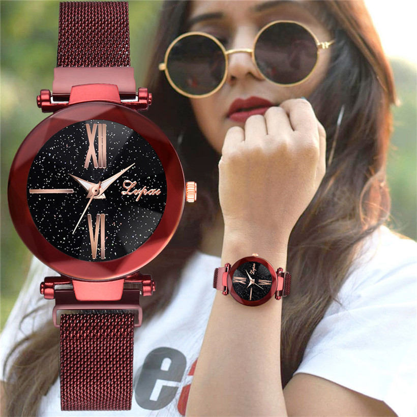 luxury-gold-watches-women-2019-new-fashion-starry-sky-wristwatches-mesh-magnetic-strap-waterproof-quartz-watches-montre-femme
