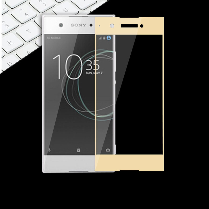 Full Tempered Glass Screen For Sony XA1 G3112 G3116 G3121 Protective Toughened Film 5