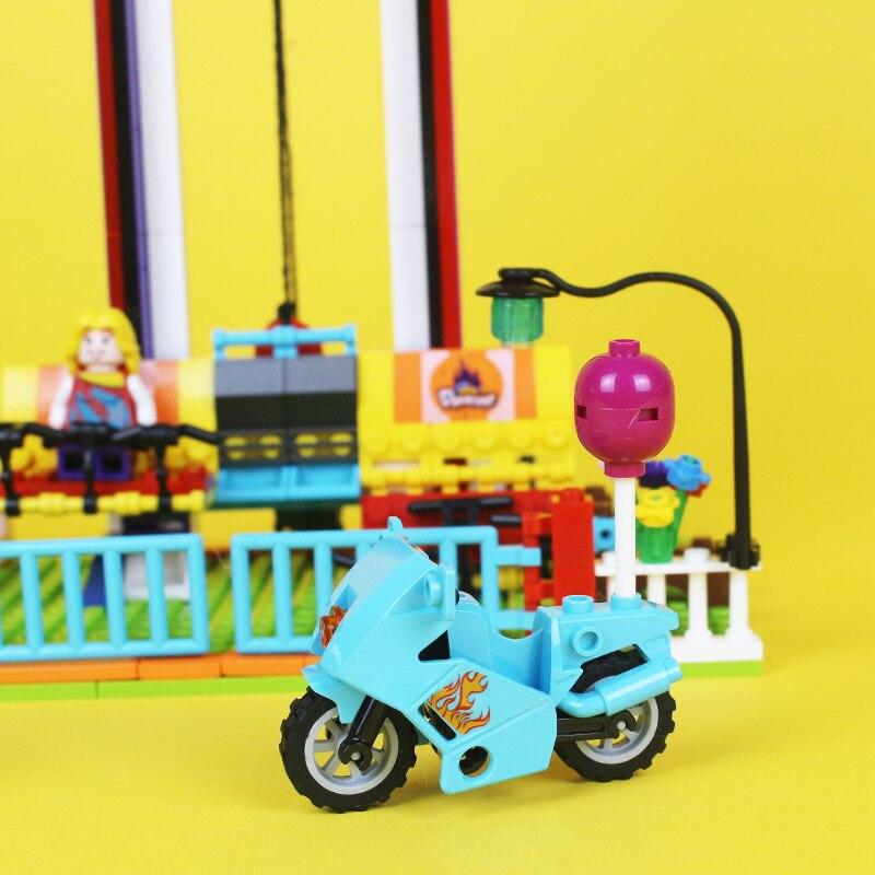 Blocks 100% True Enlighten Girls Rainbow Windmill Building Blocks Sets Bricks Model Kids Gift For Children Toys Compatible Legoings Friends