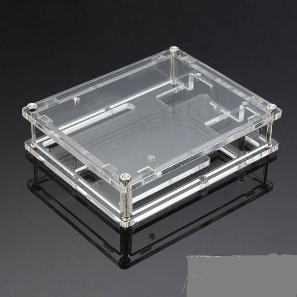 Free Shipping! 10pcs/lot Transparent Box Case Shell For ARDUINO UNO R3