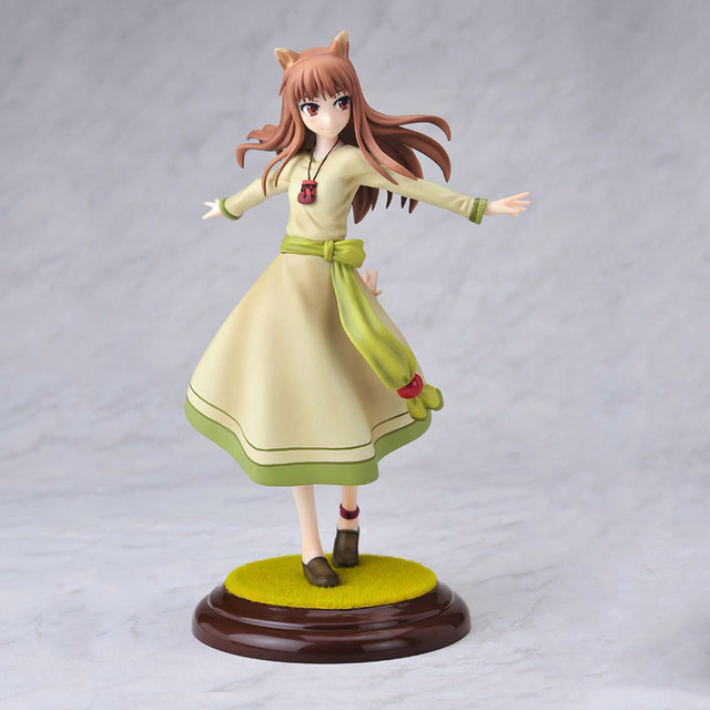 spicy and wolf horo anime figurines 1 8 scale pvc action figure