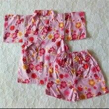 Children's Pajama Set Kimono Cotton Robe Child Sleepwear Kids Boy And Girl pajamas lounge Clothing underwear