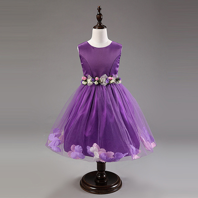 3fe42bd5eaf New arrival Retail Designer 2015 Girl Party Dress 2-9 years Princess Dress  Sequin Bow Summer Girls 10 color