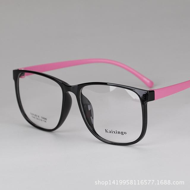 Exceder Tr Luz Senhora Vai Decoração Quadro Óculos Óptica Quadro Miopia Espetáculo Quadro Mulher Fundo Tr 90 Óculos Quadro Mulher