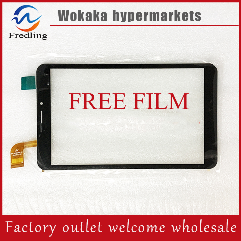 Free film+New 8 inch irbis TX90 3G Tablet touch screen Touch panel Digitizer Glass LCD Lens Sensor Replacement Free Shipping replacement new lcd display touch screen digitizer glass assembly for amazon kindle fire hd8 hd 8 8 inch black free shipping