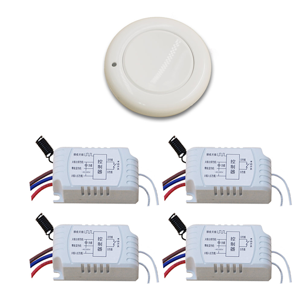 Special Offer 220V 1CH RF Wireless Light Lamp LED ON OFF Switch Wireless 4Receiver& Transmitter Momenrary Toggle Latched 315/433 offer wings xx2449 special jc australian airline vh tja 1 200 b737 300 commercial jetliners plane model hobby