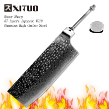 XITUO sharp blanks VG10 Damascus steel high carbon stainless steel blade chef knife DIY handmade materials tools kitchen hot  CN все цены