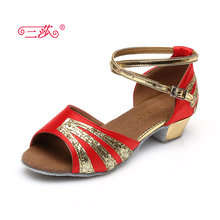 Sasha direct selling professional High Quality Latin Dance Shoes Economic Shoes Ballroom Salsa Tango dance shoes kids 109