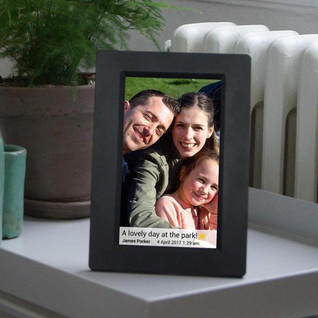 7 Inch Digital Photo Frame Hd 800x480 Led Display Playback Alarm