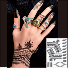 The Most Popular Black Henna Tattoos