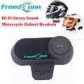 Hi-Fi de Sonido Estéreo Bluetooth Inalámbrico Auriculares Casco De La Motocicleta Auriculares Bluetooth Headset Auriculares Motocicleta BT Headset