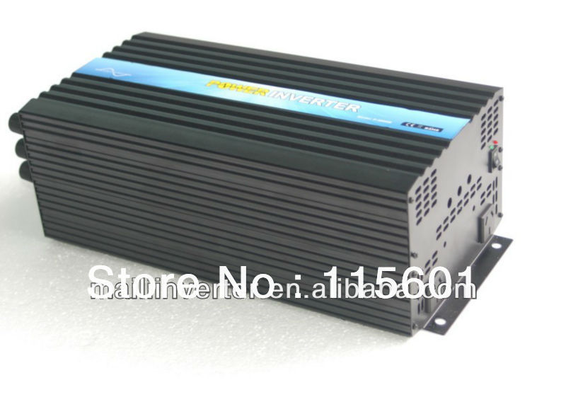 Factory Direct Selling 6kw DC24v AC230v PV Inverter, Home Appliance Inverter One Year Warranty