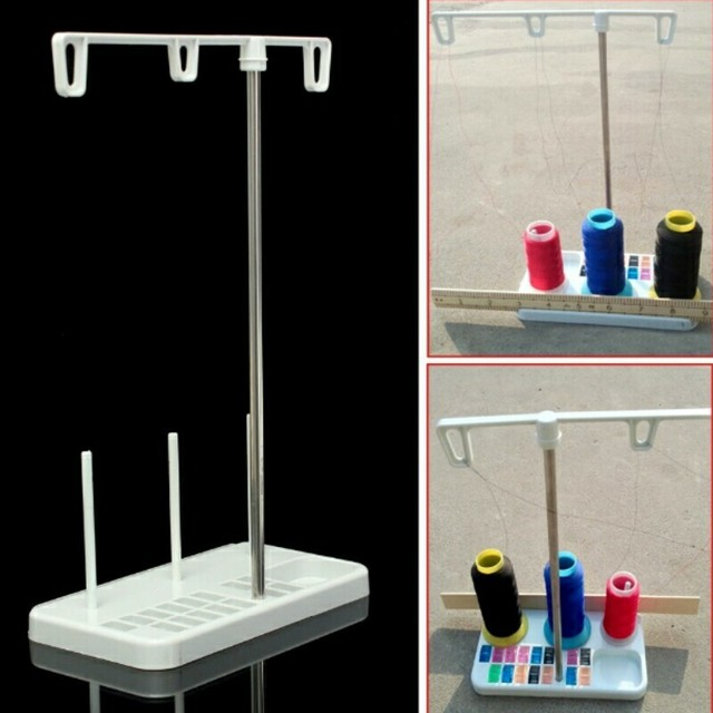 Wcic Sewing Thread Holder Plastic Metal Strip 3 Embroidery Thread