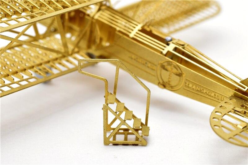1/160 Boeing 40 Model bingkai pesawat DIY Tidak perlu menggunakan gam - Teka-teki - Foto 4