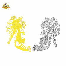 Cutting Dies Shoes Metal Heels Scrapbooking Album Card Making Paper Die Cut Craft New Fustelle Handmade