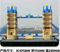 DIY Construction Bricks Assembles Particles Block Toys 1033 pcs bricks London tower bridge construction model