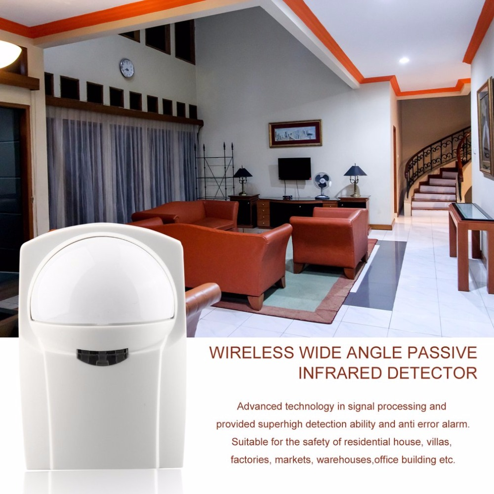 433MHz Wireless Passive 12Kg Pet infrared Detector Dual infrared Burglar Alarm System PET Immunity Sensor Safety Precaution hot selling free shipping wholesale price wireless passive 12kg pet infrared detector for home burglar alarm system