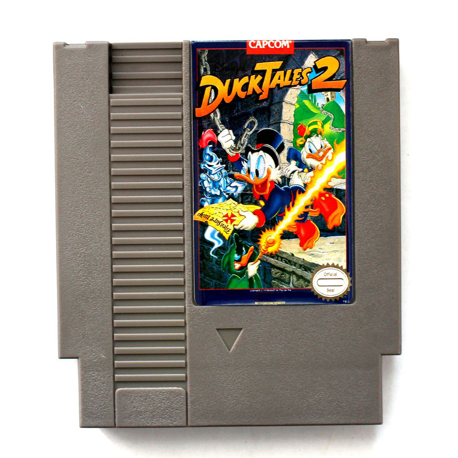 Duck Tales 2 72 Pins Game Card For 8 Bit Game Player